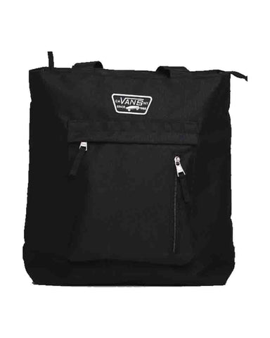IN THE KNOW TOTE BLACK