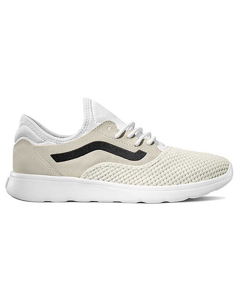 VANS ISO ROUTE SUEDE KNIT TRUE WHITE