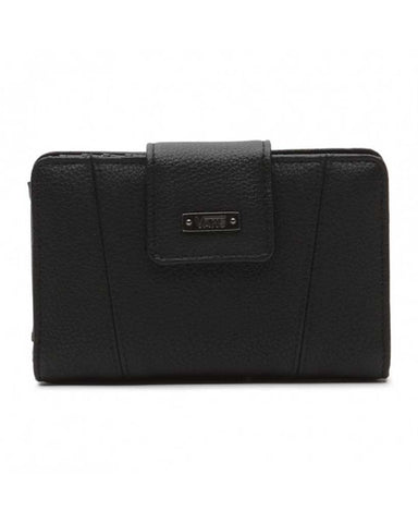 JENNA CHAIN WALLET BLACK