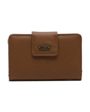 JENNA CHAIN WALLET COCOA ANTIQUE BROWN