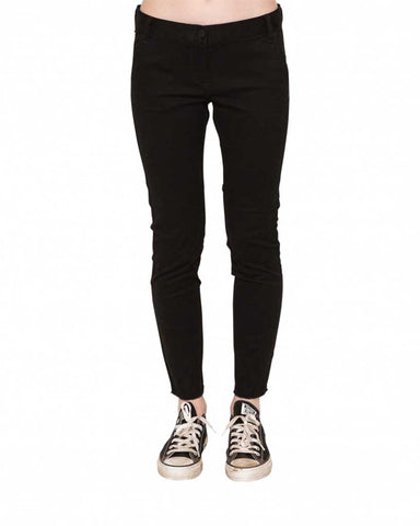 KELLY SLIM FIT STRETCH TWILL PANT FLINT BLACK
