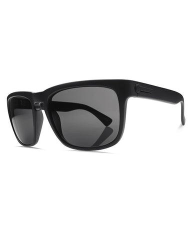 KNOXVILLE MATTE BLACK OHM GREY POLARIZED