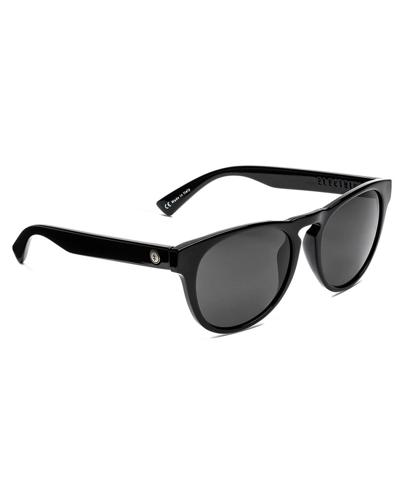 ELECTRIC KNOXVILLE GLOSS BLACK OHM GRAY Sunglasses