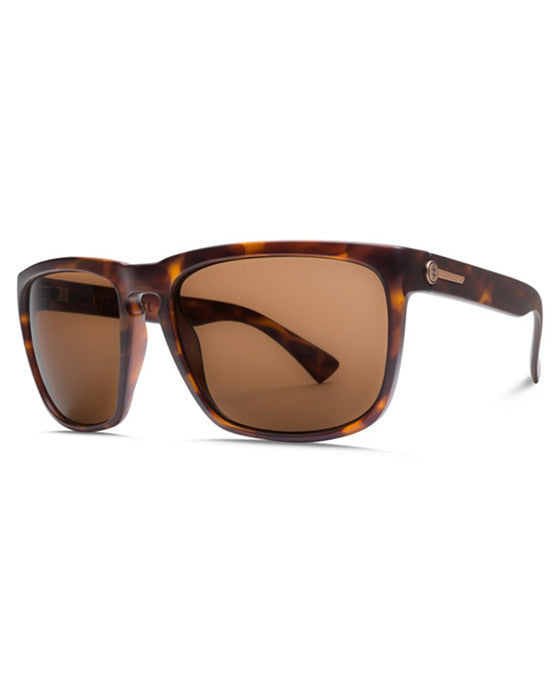 Lunettes soleil ELECTRIC KNOXVILLE XL MATTE TORT OHM BRONZE