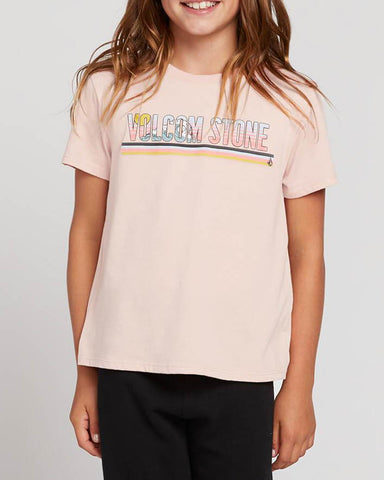 BIG GIRLS LAST PARTY TEE - MELLOW ROSE