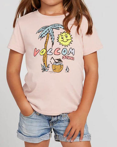 LITTLE GIRLS LAST PARTY TEE - MELLOW ROSE
