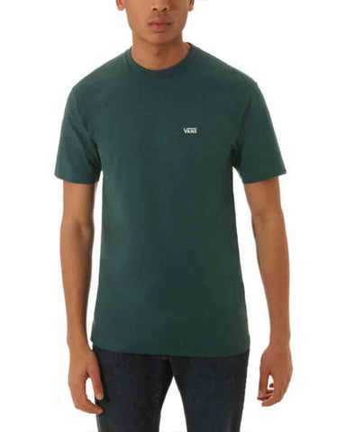 LEFT CHEST LOGO TREKKING GREEN