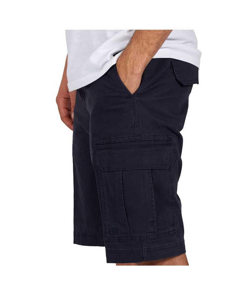 Short ELEMENT LEGION CARGO SHORT ECLIPSE NAVY