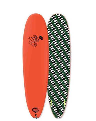 "ODYSEA NEON ORANGE 7'0"" LOG RENTAL"