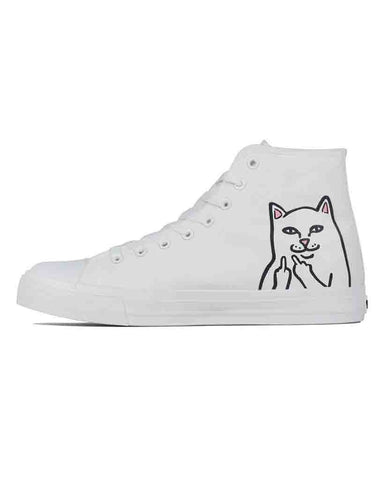 LORD NERMAL HIGH TOPS SHOES WHITE