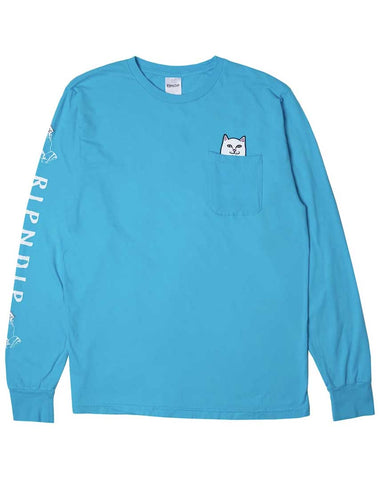 LORD NERMAL POCKET LS BLUE