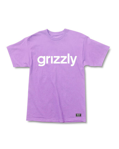 LOWERCASE LOGO LAVENDER WHITE