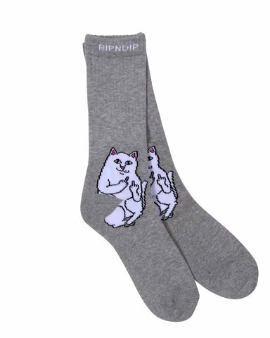 LORD NERMAL SOCKS HEATHER GRAY