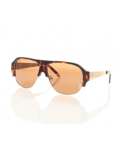 MAJOR II POLARIZED TORTOISE GOLD BRONZE