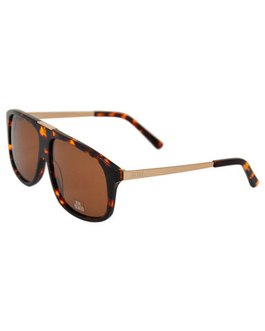MARAUDERS TORTOISE BROWN POLARIZED