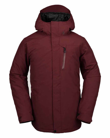 INSULATED GORE-TEX JACKET - BURNT RED