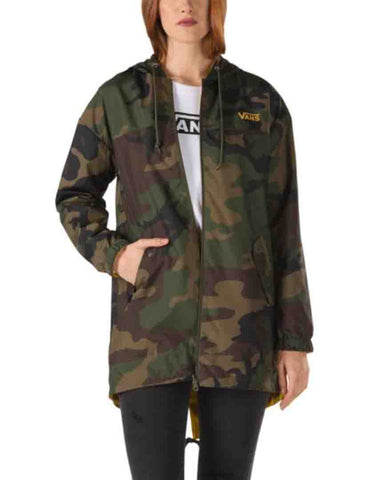 MERCY REVERSIBLE PARKA WOODLAND CAMO
