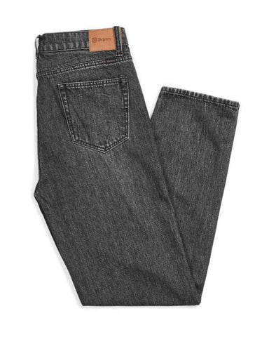 METHOD 5-POCKET DENIM PANTS - WORN BLACK
