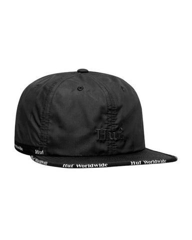 MIDTOWN 6-PANEL HAT BLACK