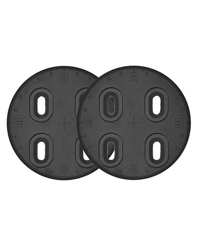 MOUNTING DISC 4X4 NYLON BLACK