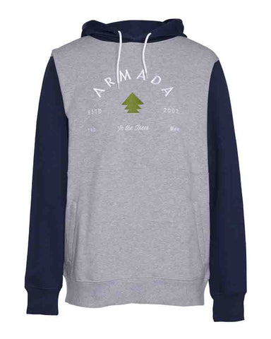 MULTIPLY HOODIE HEATHER GREY