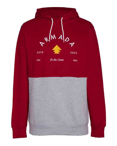 MULTIPLY HOODIE RED CHILI