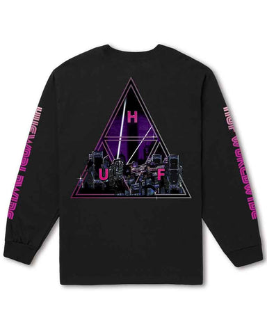 NEO TRIPLE TRIANGLE LONG SLEEVE BLACK