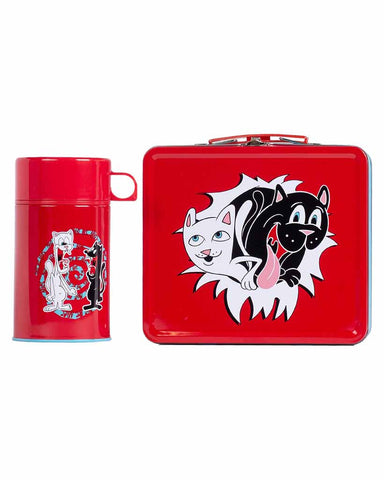 NERM & JERM SHOW LUNCHBOX RED-BLUE