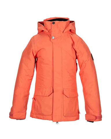 GIRLS HAWTHORNE JACKET CORAL