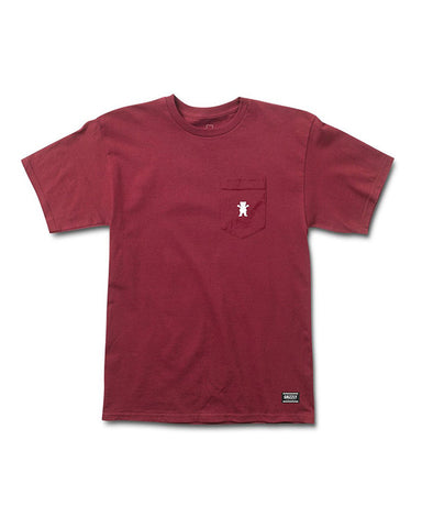 OG BEAR EMBROIDED BURGUNDY