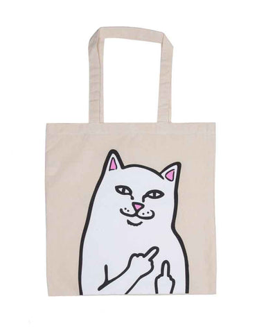 OG LORD NERMAL TOTE BAG NATURAL CANVAS