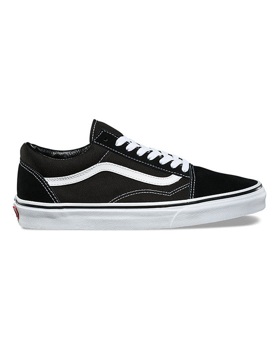 VANS OLD SKOOL BLACK WHITE shoes