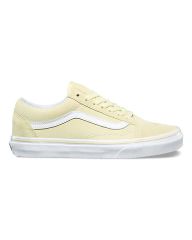 OLD SKOOL SUEDE TENDER YELLOW TRUE WHITE