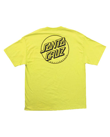 OPUS DOT TEE SAFETY GREEN