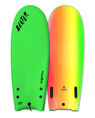 ORIGINAL 54 TWIN FIN NEON GREEN