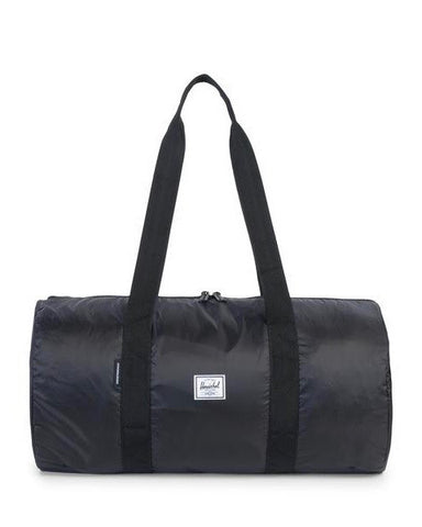 PACKABLE DUFFLE  BLACK INDEPENDENT