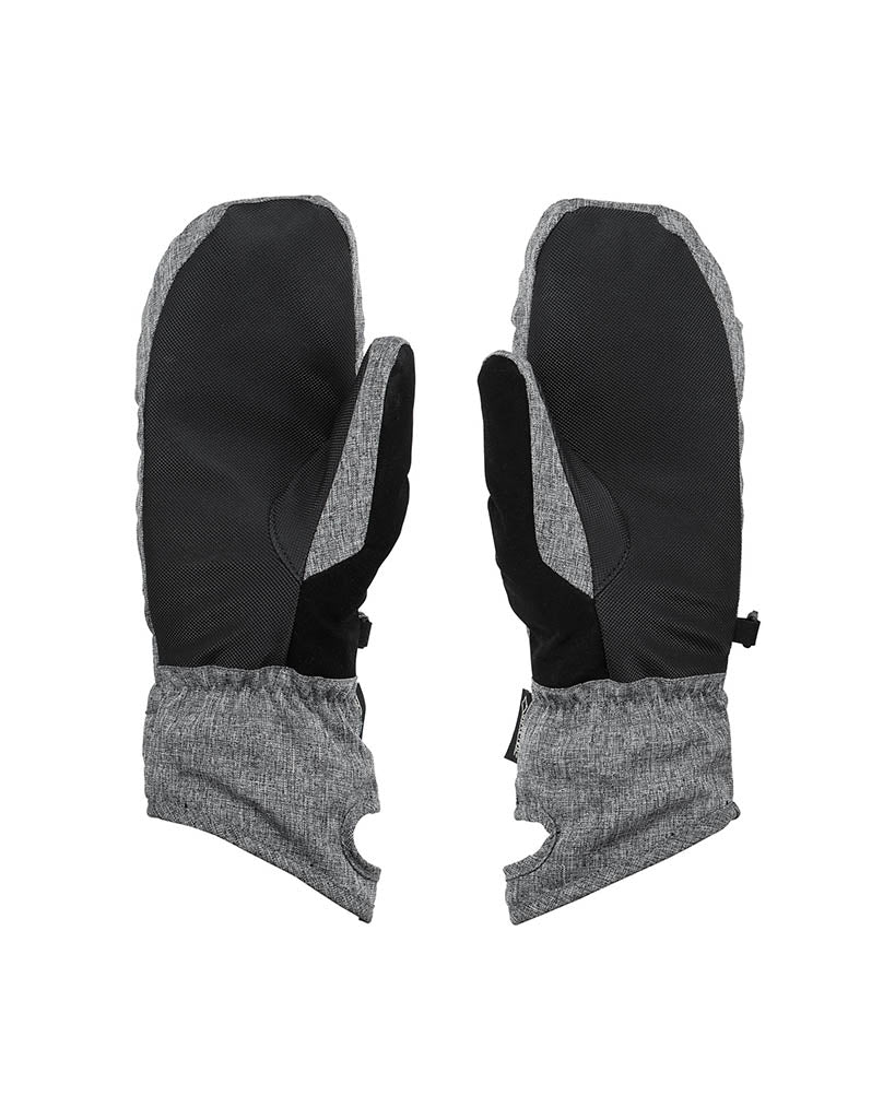 VOLCOM PEEP GORE-TEX MITT HEATHER GRAY gloves and mitts