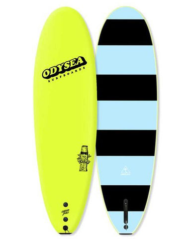 PLANK 6'0  - SINGLE FIN ELECTRIC LEMON