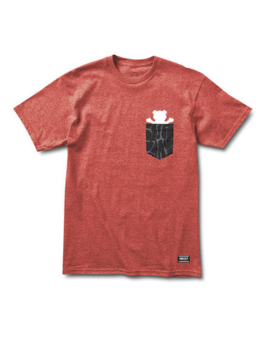 POCKET CEMENT HEATHER RED