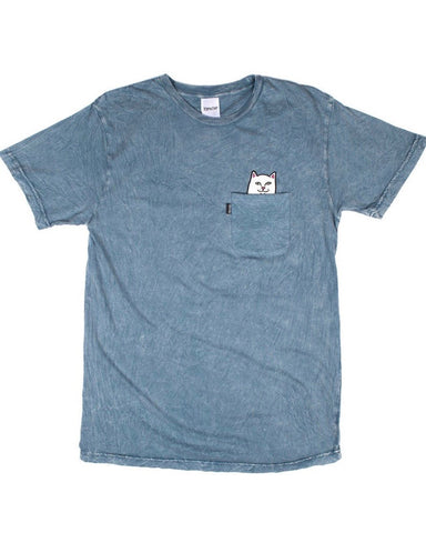 POCKET LORD NERMAL INDIGO ACID WASH