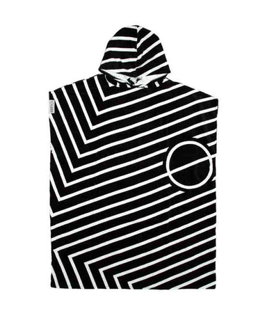 PONCHO TOWEL JOINT BLACK