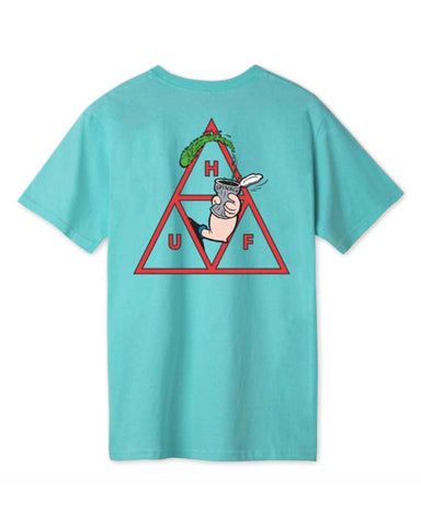 POPEYE SPINACH TRIPPLE TRIANGLE T-SHIRT MINT