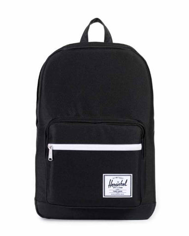 POP QUIZ BACKPACK BLACK / BLACK PU
