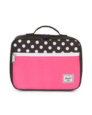 POP QUIZ LUNCH BLACK X POLKA DOT PINK  5L