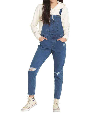 PROMISE DENIM OVERALLS RINSE WASH
