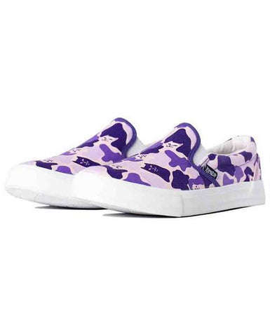 SLIP ON PURPLE CAMO