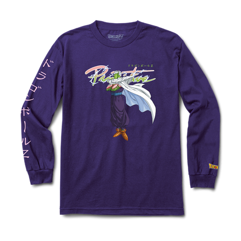 X DRAGON BALL Z NUEVO PICCOLO LS TEE PURPLE