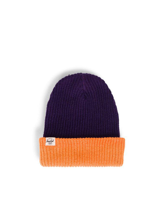 Beanie HERSCHEL QUARTZ YOUTH ACRYLIC PURPLE TANGERINE
