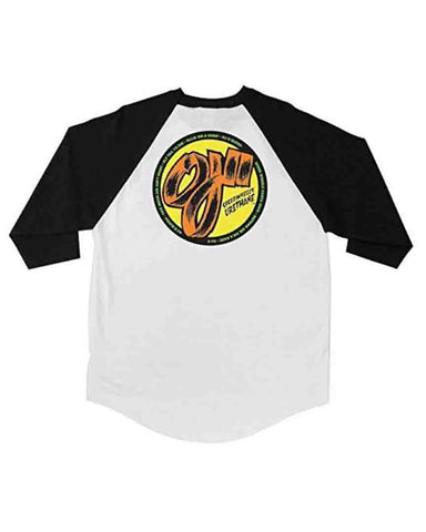 RAGLAN OJ2 SPEEDWHEELS WHITE / BLACK