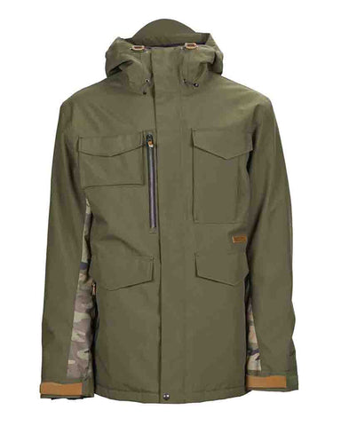 RANSACK INSULATED JACKET GREEN-GREEN CAMO